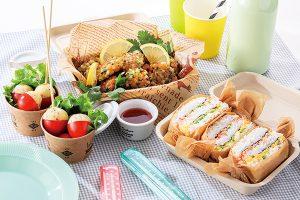 新緑の季節に ピクニックでワクワク弁当レシピ