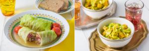 【健康保険組合会報誌 すこやか】2020年 旬菜で巡る世界の料理紀行レシピ 掲載